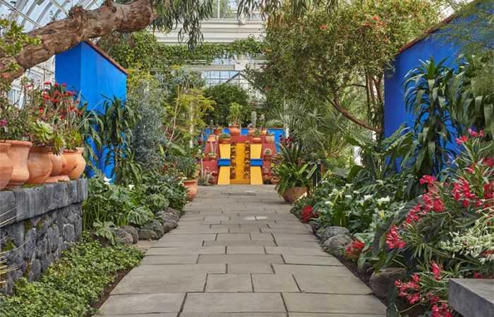 View of Frida Kahlo Exhibit at NY Botanical Gardens | Nazmiyal