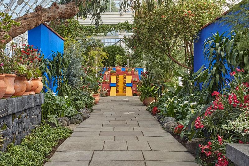 View of Frida Kahlo Exhibit at NY Botanical Gardens   Nazmiyal