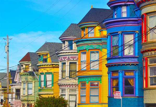 San Francisco Homes by Nazmiyal