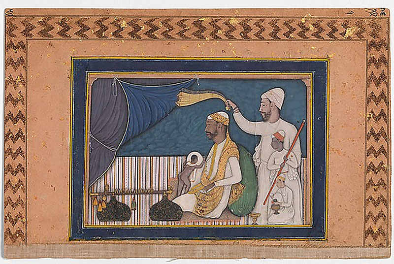 Portrait of a Ruler or Musician, Sultans of Deccan Exhibit, Nazmiyal