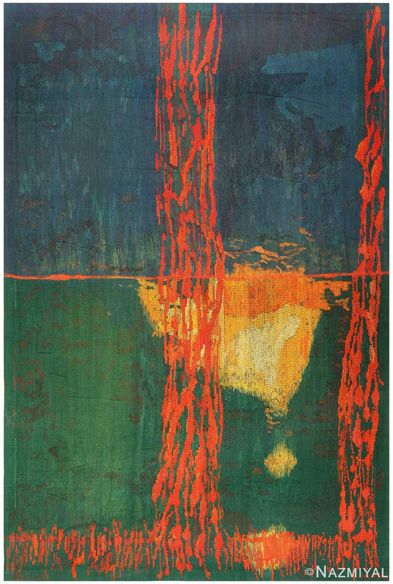 """""""Spegelnatt"""" Tapestry, 1971 by Brita Molin 48313 Nazmiyal"""