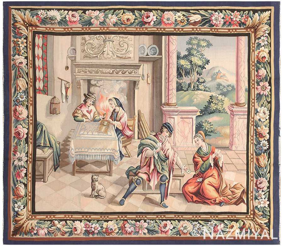 Antique French Tapestry 50270