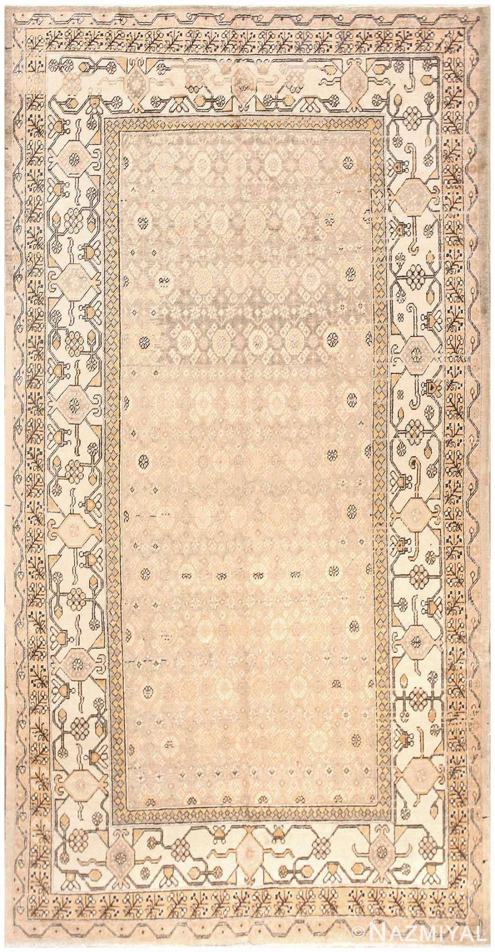 Antique Khotan Rug from East Turkestan 50278