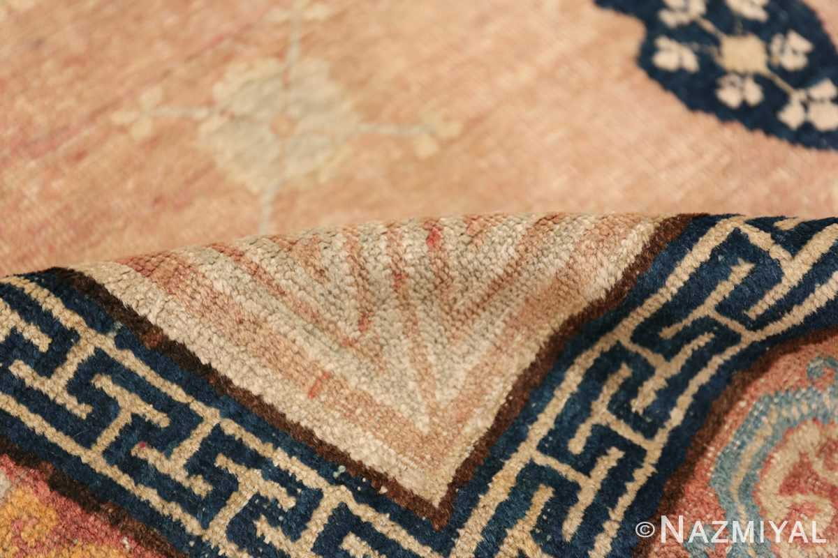 Antique Khotan Rug From East Turkestan 50305 Geometric Pile Nazmiyal