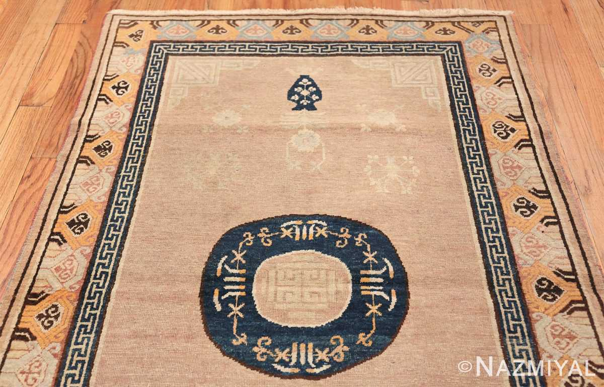 Antique Khotan Rug From East Turkestan 50305 Top Design Nazmiyal