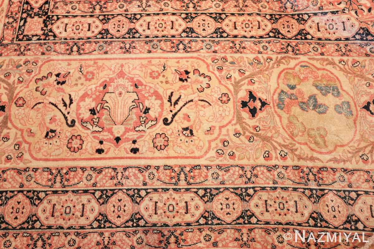 antique oversized tabriz persian carpet by haji jalili 50262 border Nazmiyal