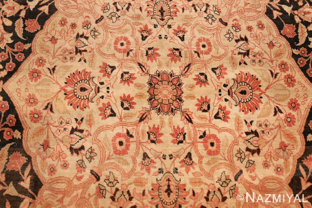 antique oversized tabriz persian carpet by haji jalili 50262 medallion Nazmiyal
