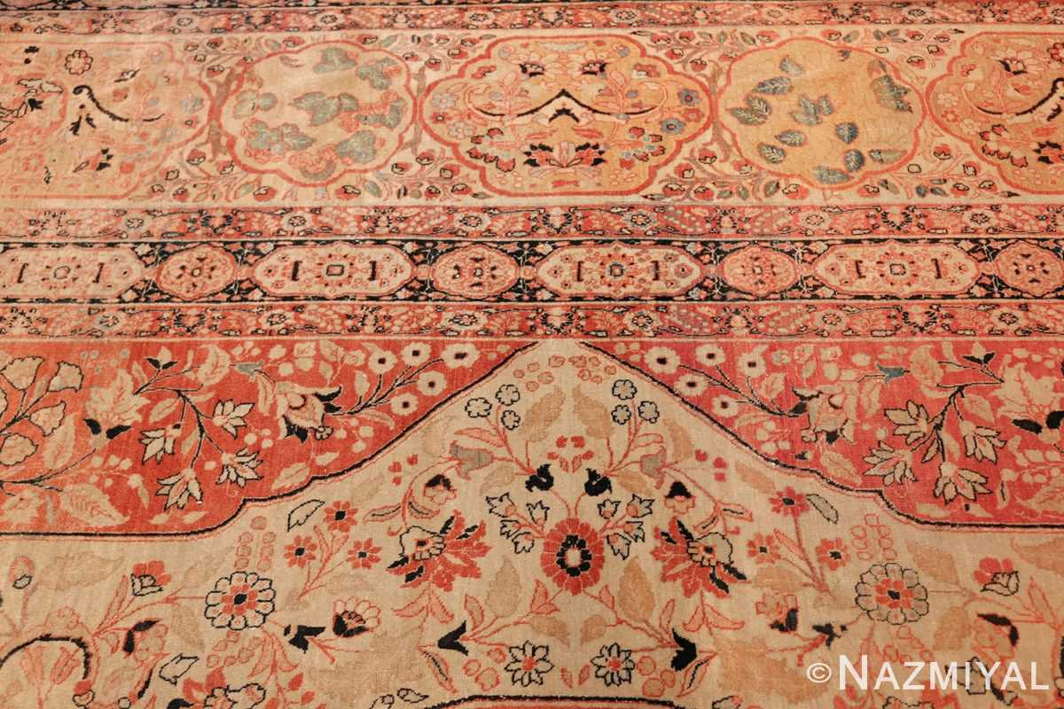 antique oversized tabriz persian carpet by haji jalili 50262 side Nazmiyal