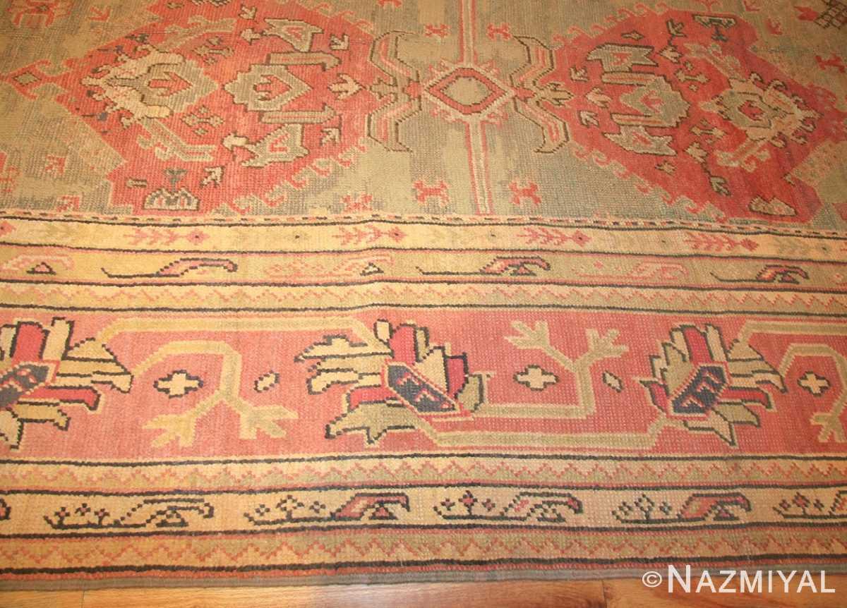 antique oversized turkish oushak rug 50239 border Nazmiyal