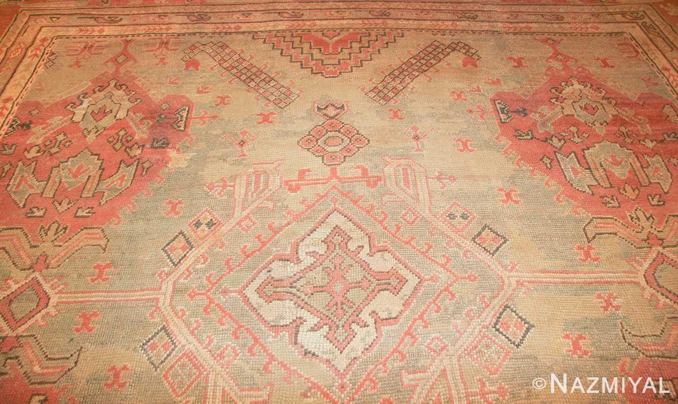 antique oversized turkish oushak rug 50239 design Nazmiyal