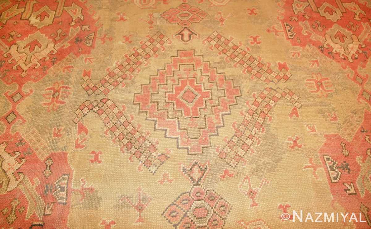 antique oversized turkish oushak rug 50239 field Nazmiyal