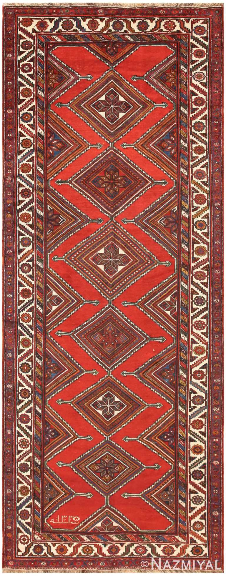 Antique Persian Ghashgai Runner 50301