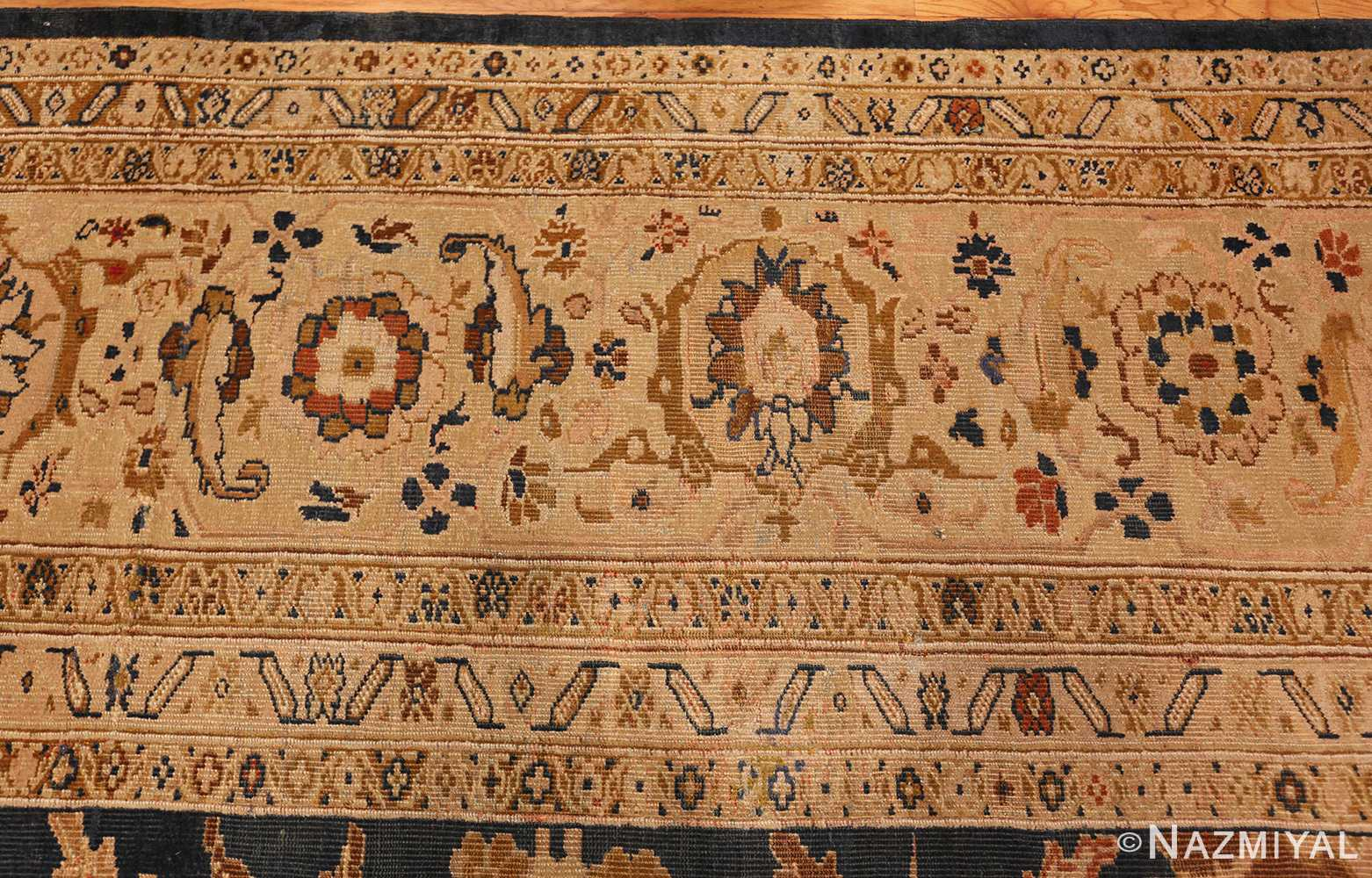 antique persian large scale ziegler sultanabad carpet 50198 border Nazmiyal