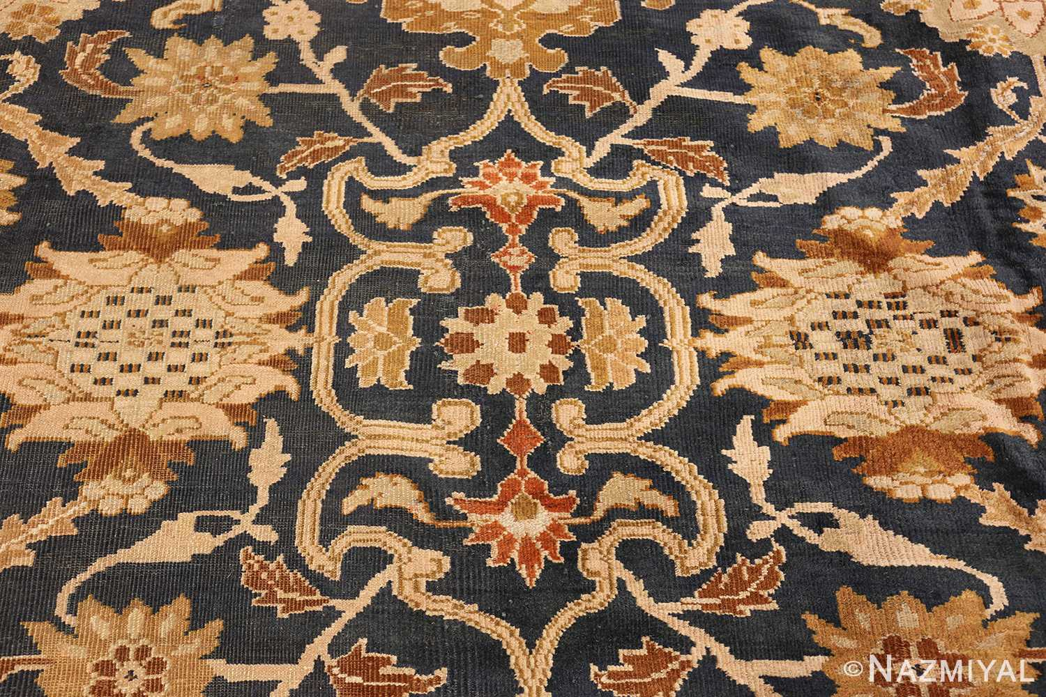 antique persian large scale ziegler sultanabad carpet 50198 center Nazmiyal