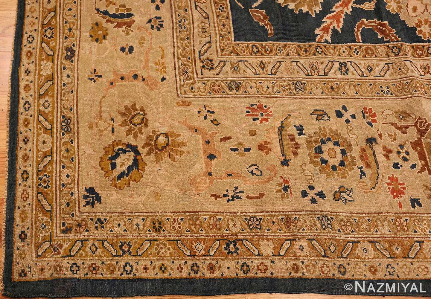 antique persian large scale ziegler sultanabad carpet 50198 corner Nazmiyal