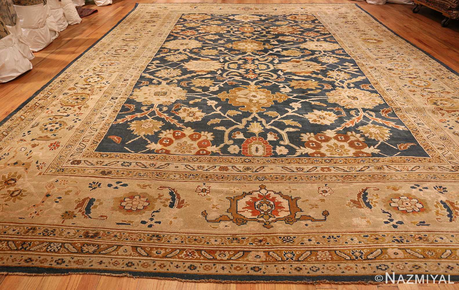 antique persian large scale ziegler sultanabad carpet 50198 full Nazmiyal