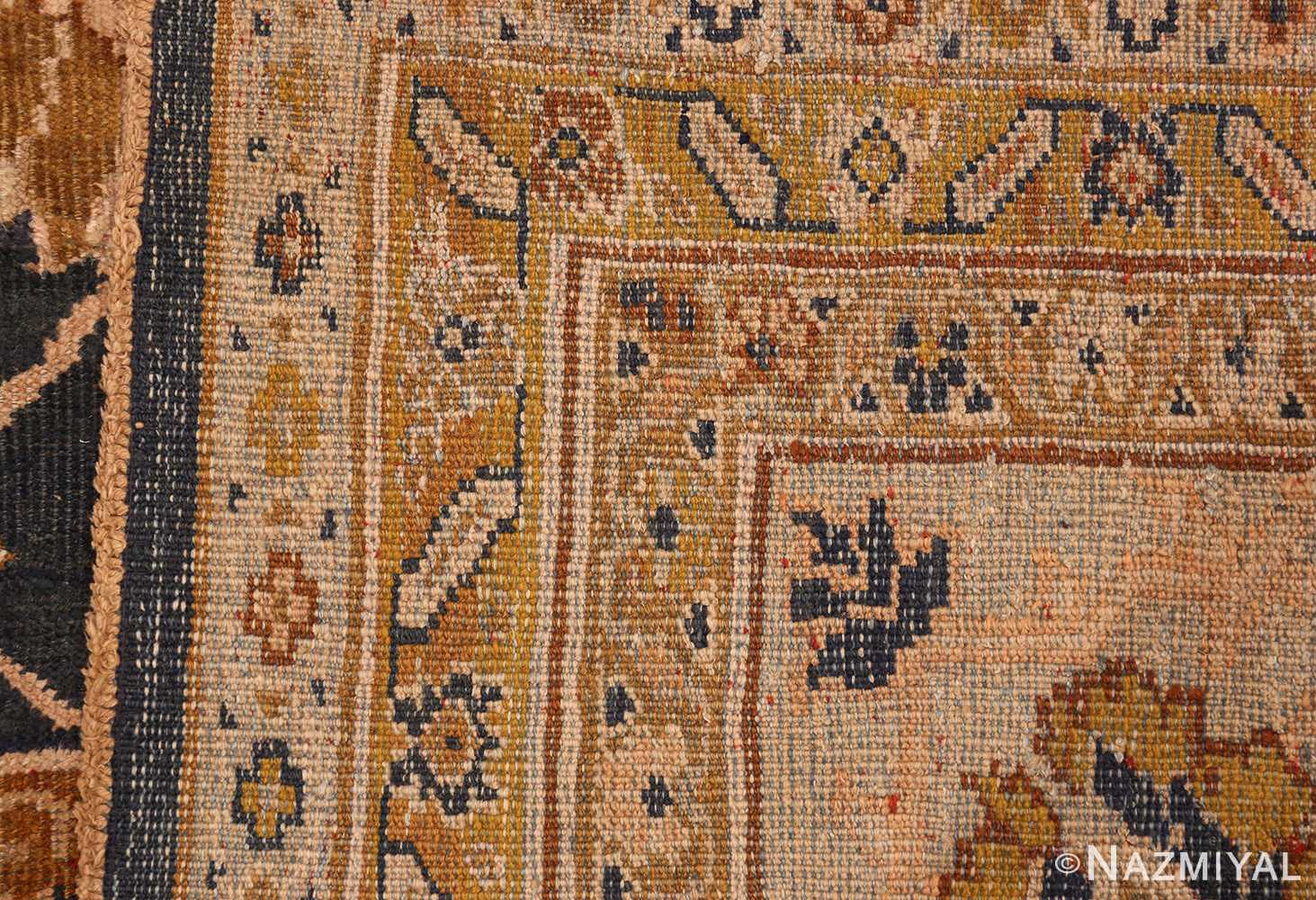antique persian large scale ziegler sultanabad carpet 50198 weave Nazmiyal