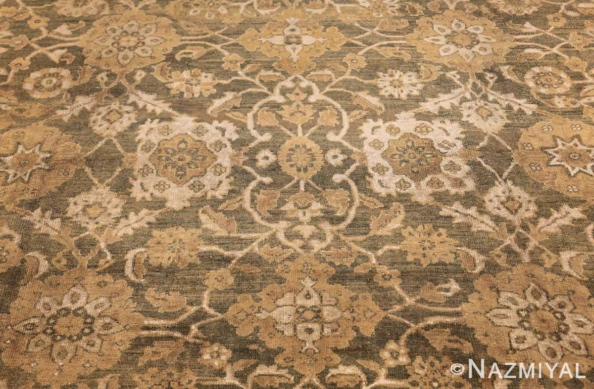 antique persian large size sultanabad rug 48550 closeup Nazmiyal
