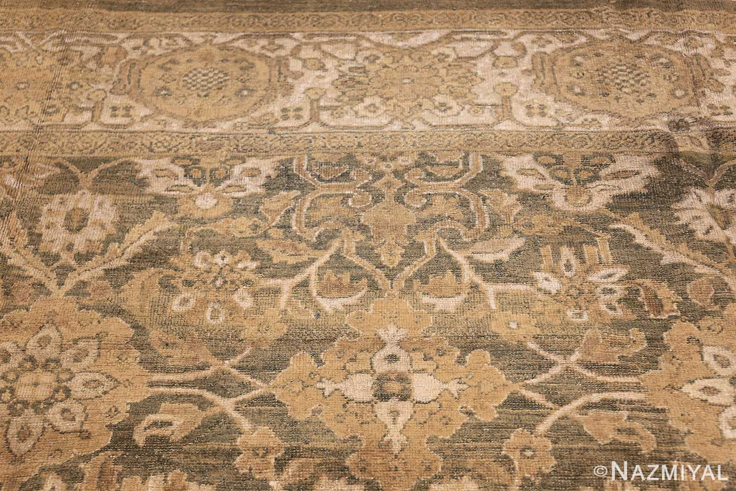 antique persian large size sultanabad rug 48550 top Nazmiyal