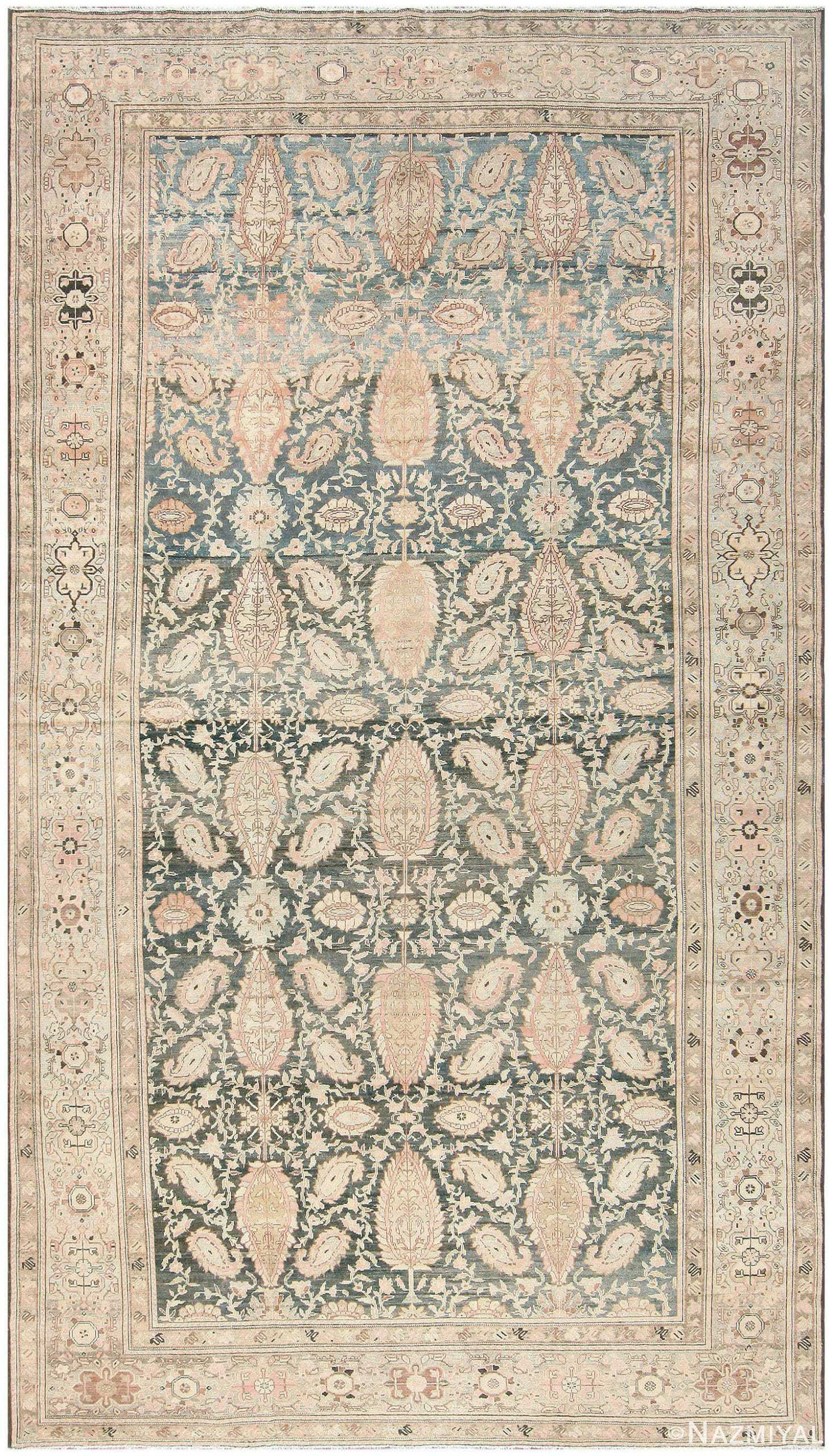 Antique Persian Malayer Carpet 50232 by
