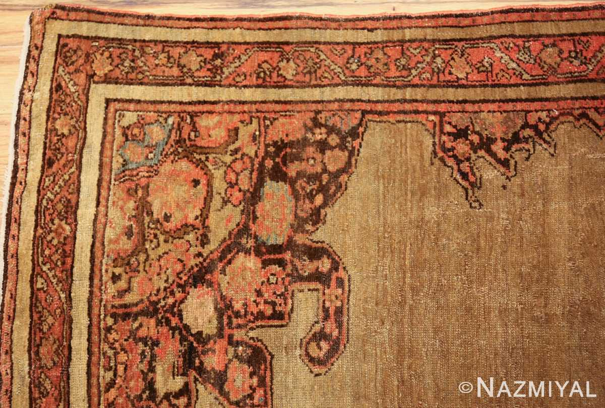 antique persian malayer carpet 50247 corner Nazmiyal