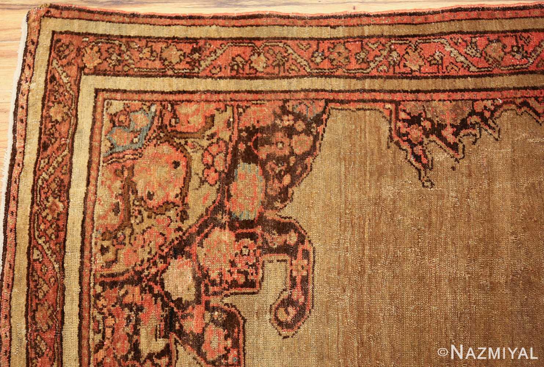 antique persian malayer carpet 50247 corner Nazmiyal