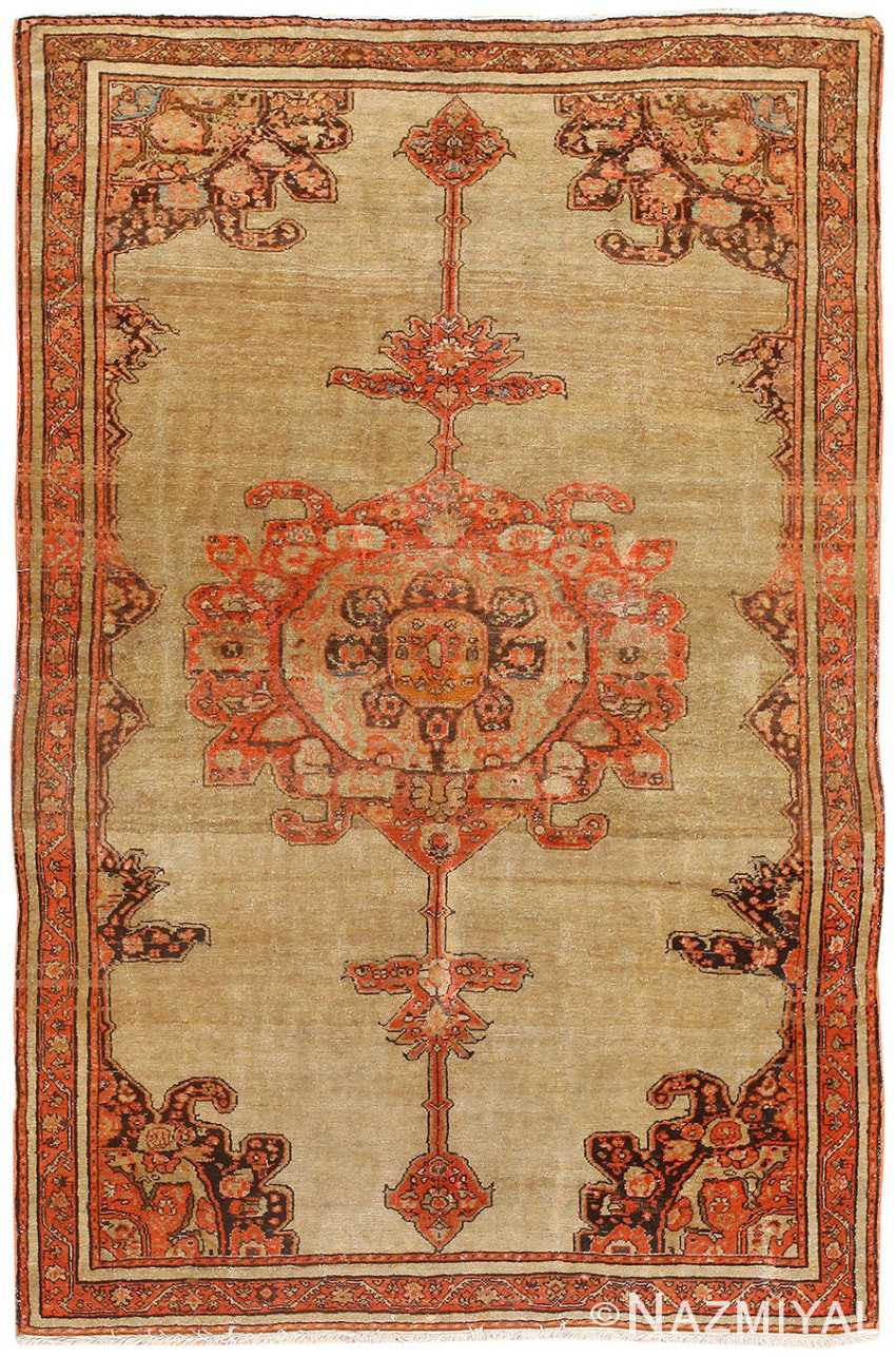 Antique Persian Malayer Carpet 50247 Nazmiyal