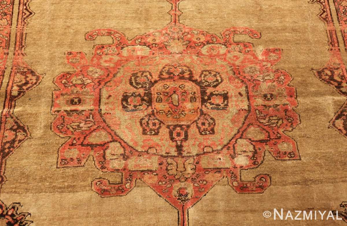 antique persian malayer carpet 50247 medallion Nazmiyal
