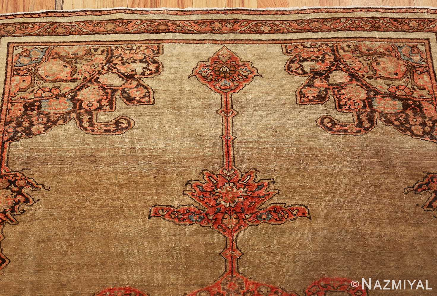 antique persian malayer carpet 50247 top Nazmiyal