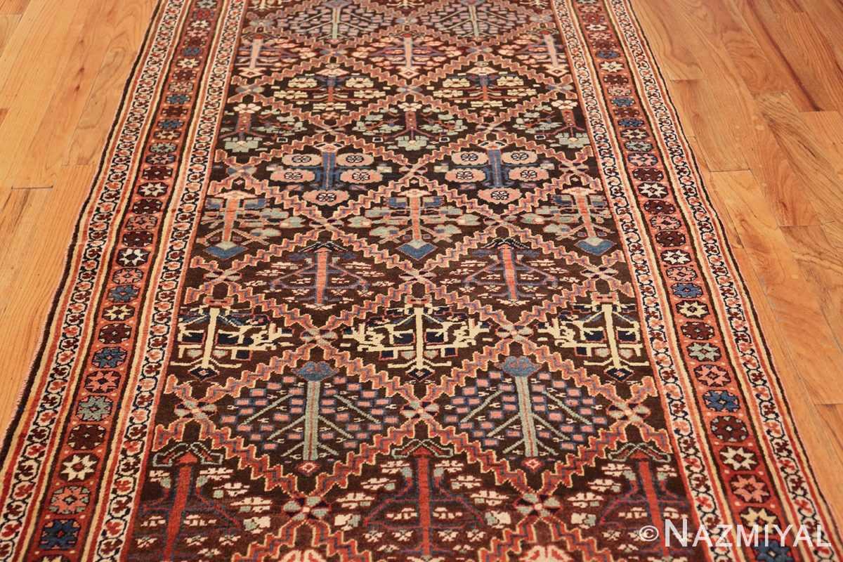 antique persian shrub design bidjar carpet 50267 field Nazmiyal