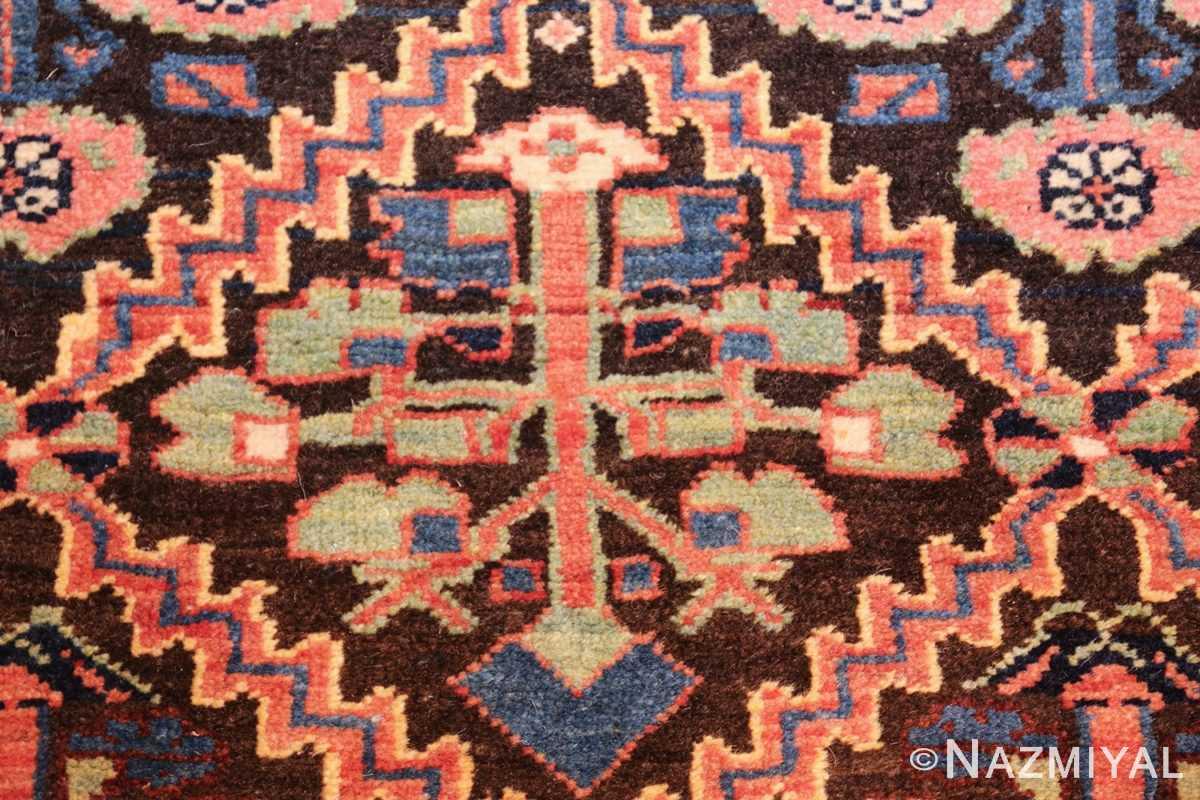 antique persian shrub design bidjar carpet 50267 green Nazmiyal