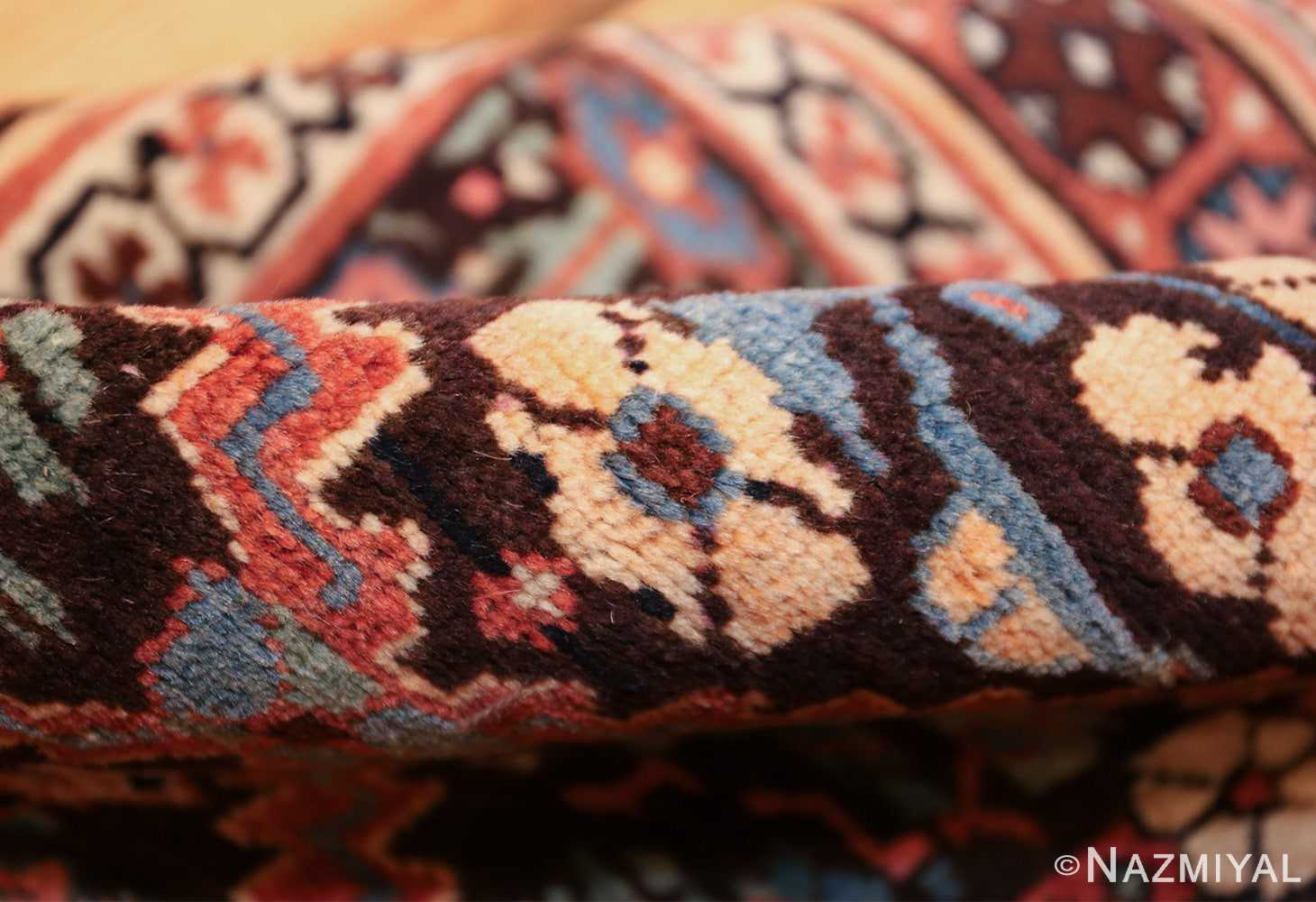 antique persian shrub design bidjar carpet 50267 pile Nazmiyal