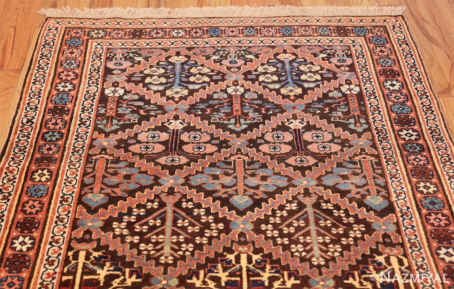 antique persian shrub design bidjar carpet 50267 top Nazmiyal