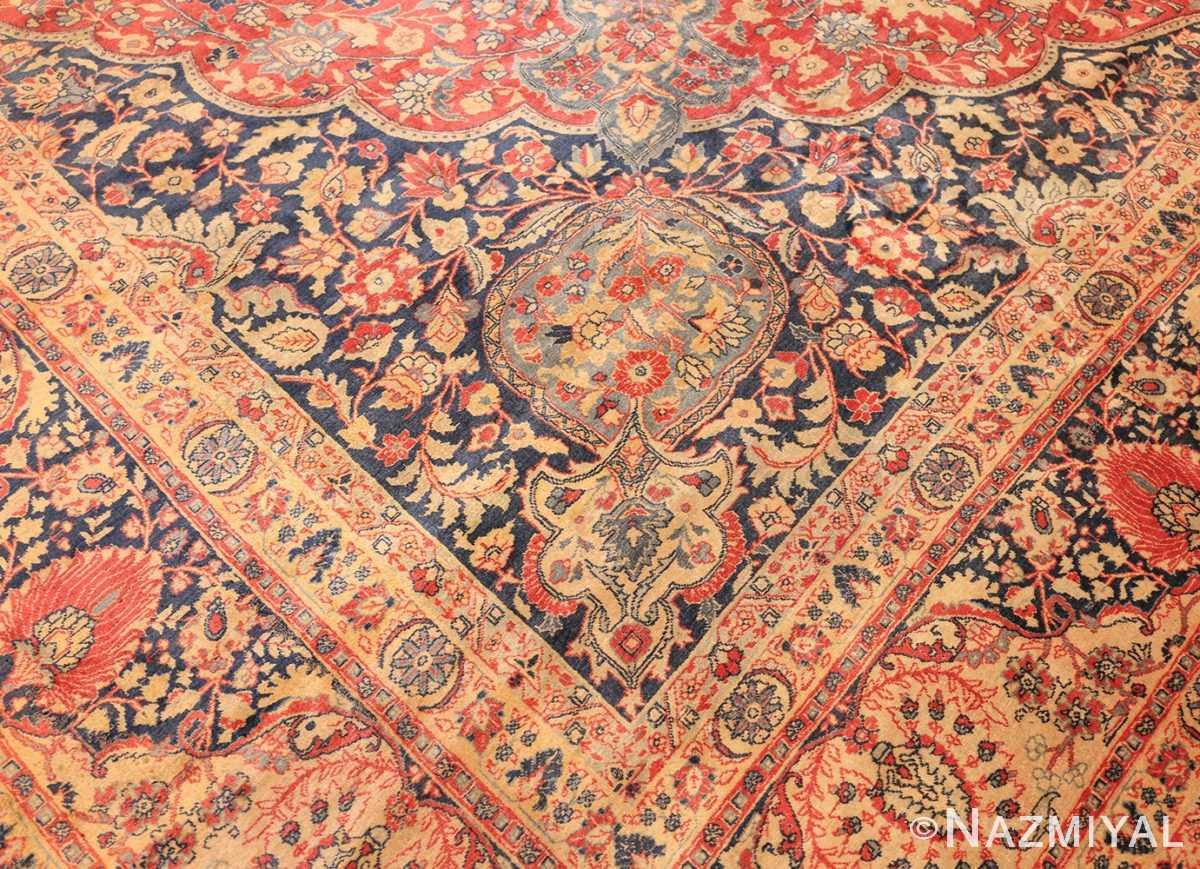 antique persian tabriz carpet 50313 design Nazmiyal