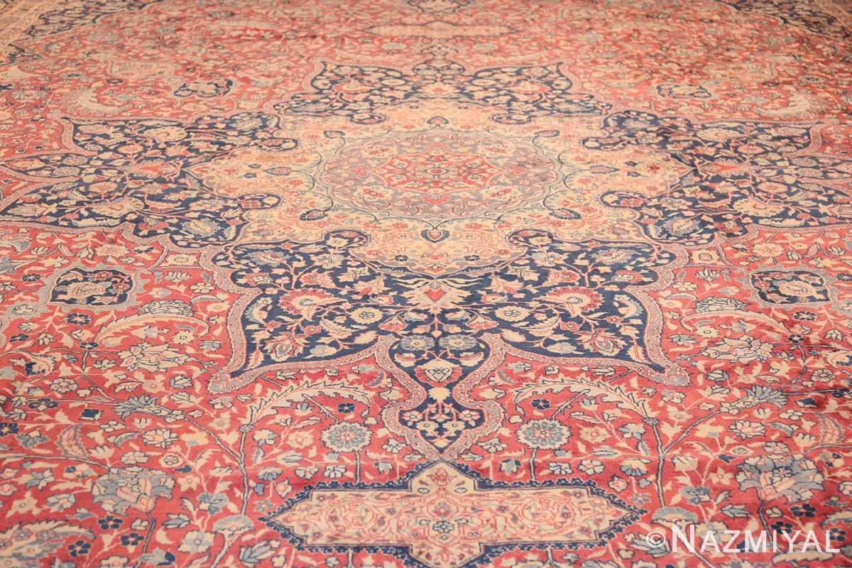 antique persian tabriz carpet 50313 field Nazmiyal