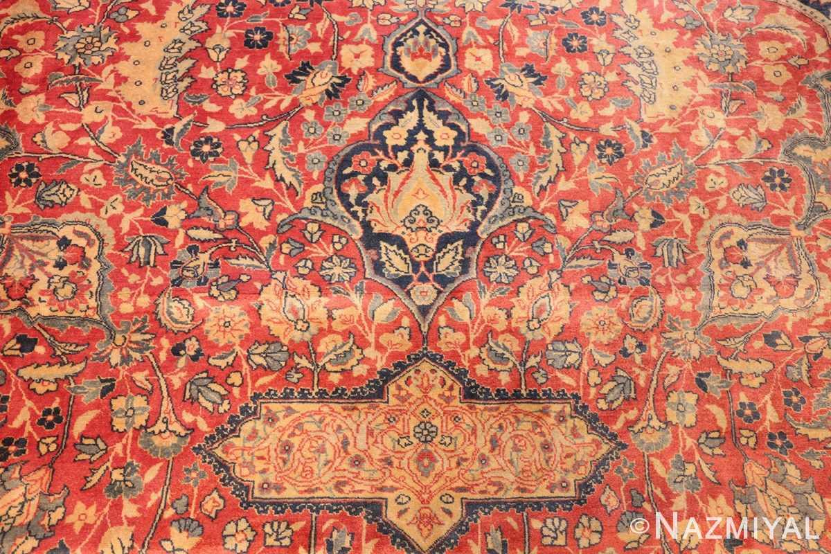 antique persian tabriz carpet 50313 top Nazmiyal