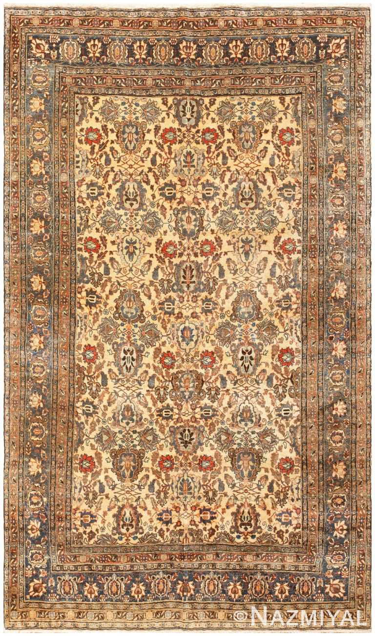 Antique Persian Tabriz Rug 50155 Detail/Large View