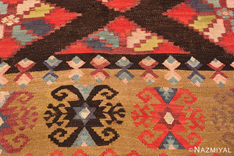 antique room sized besserabian carpet 50187 design Nazmiyal