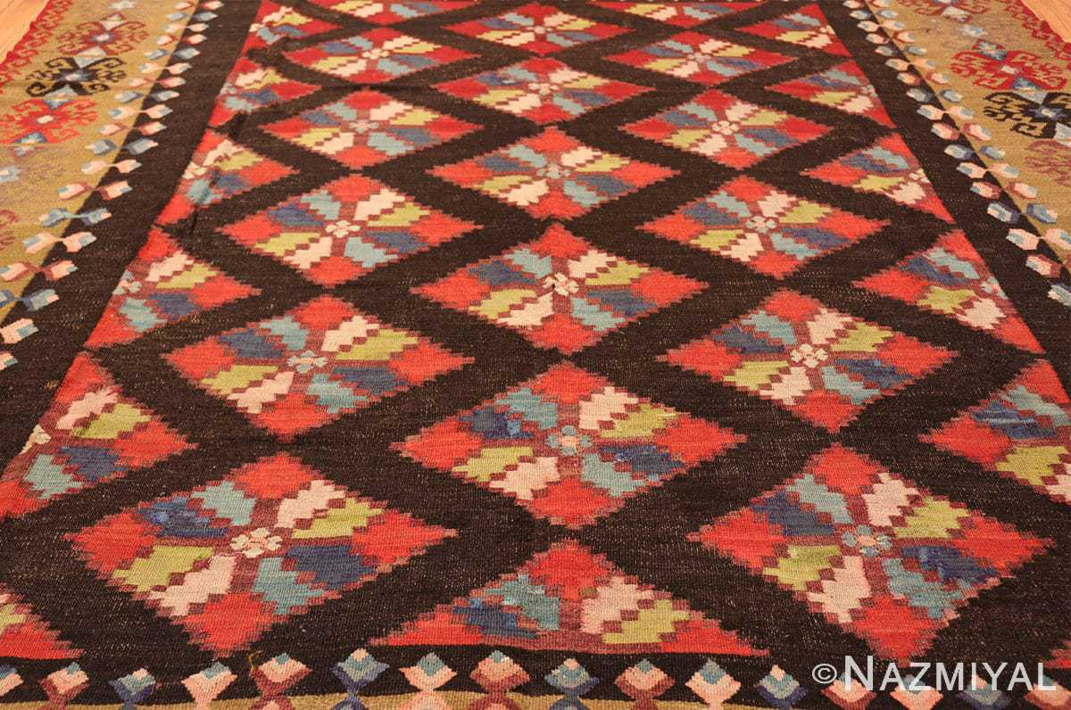 antique room sized besserabian carpet 50187 field Nazmiyal