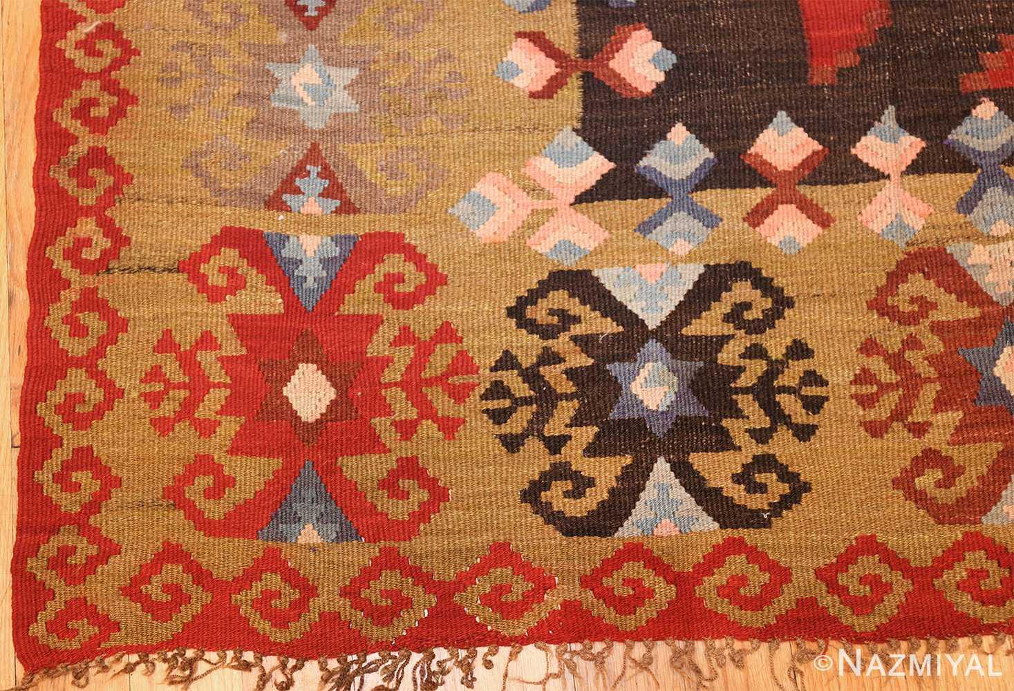 antique room sized besserabian carpet 50187 part Nazmiyal