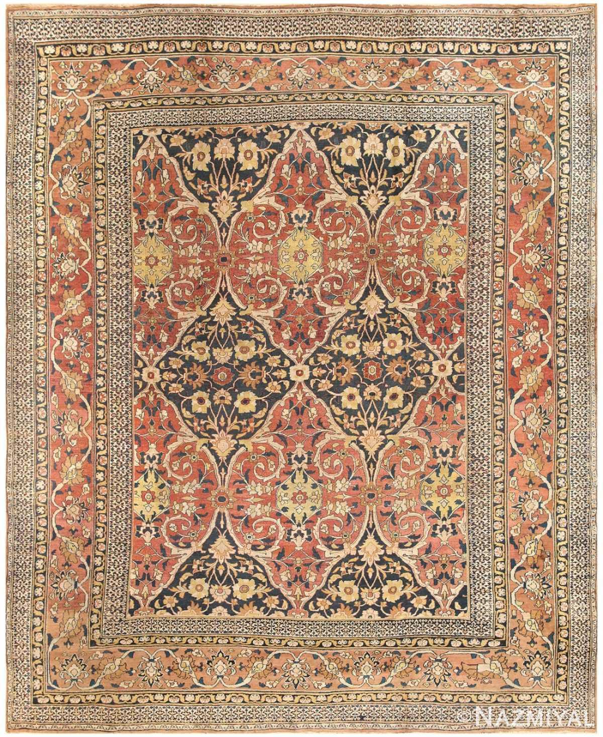 Antique Room Sized Persian Khorassan Carpet 50243 Nazmiyal