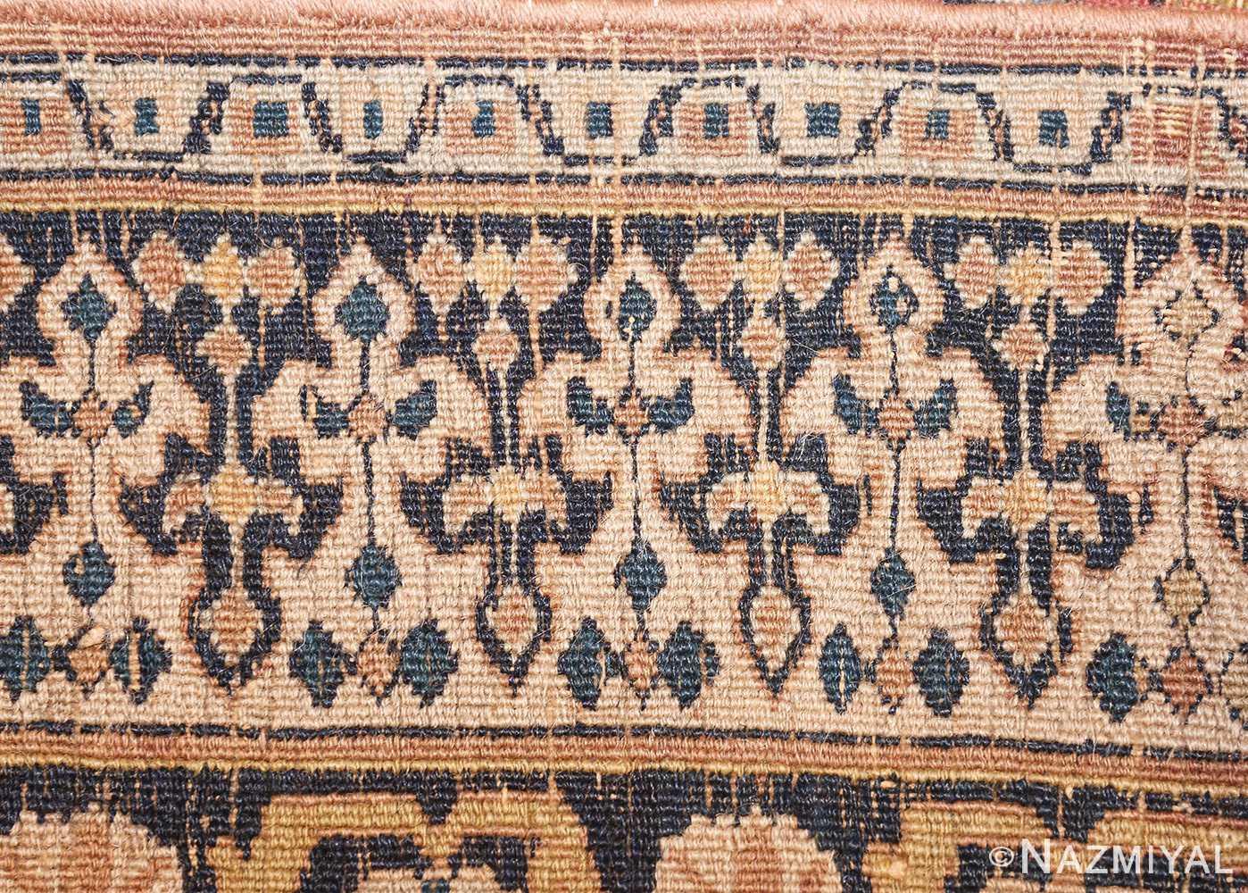 antique room sized persian khorassan carpet 50243 weave Nazmiyal