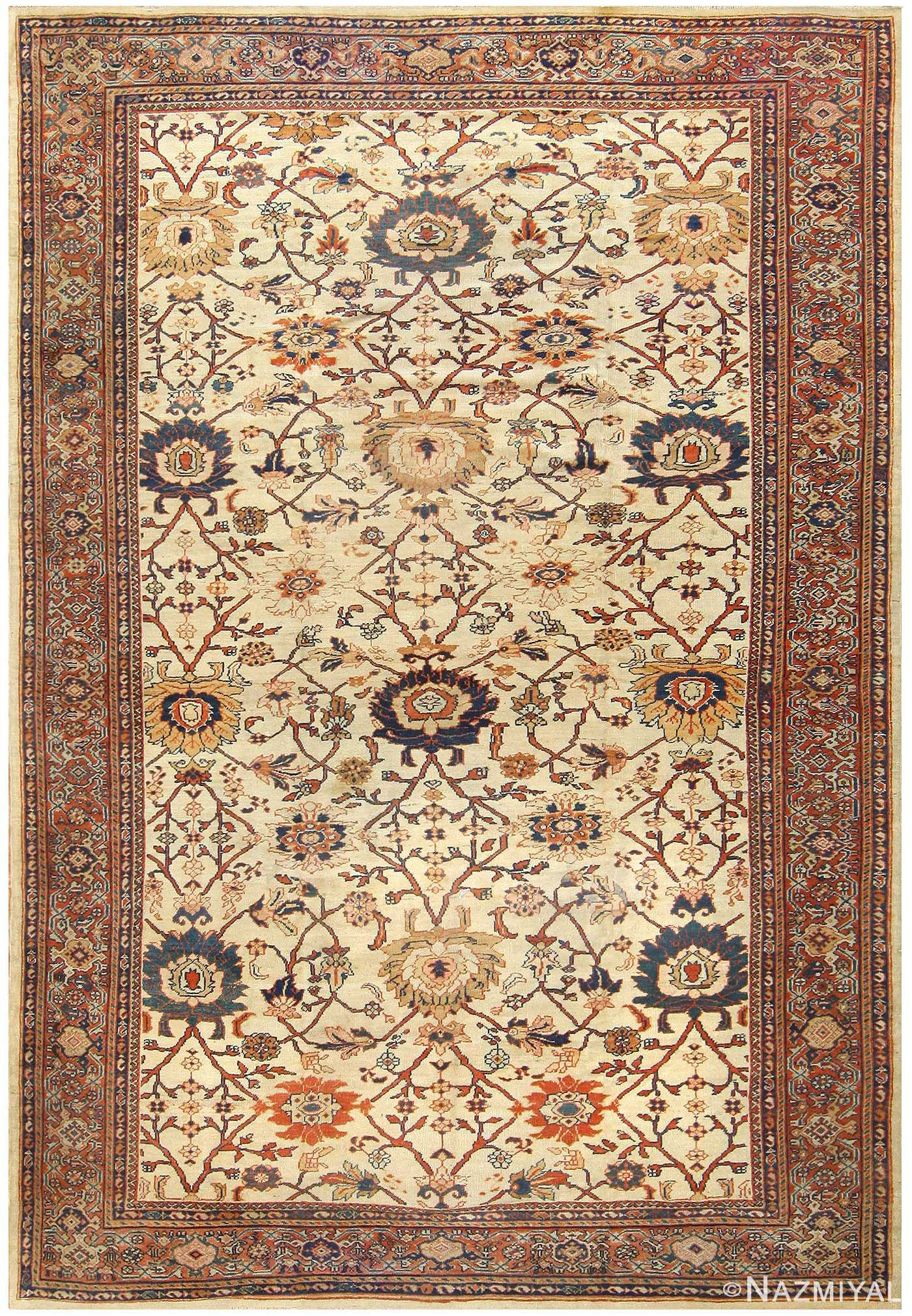 Antique Sultanabad Persian Carpet 50282