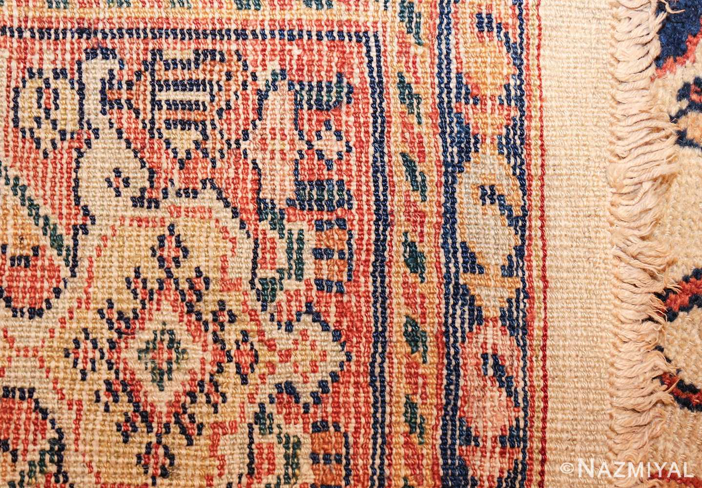 antique sultanabad persian carpet 50282 weave Nazmiyal