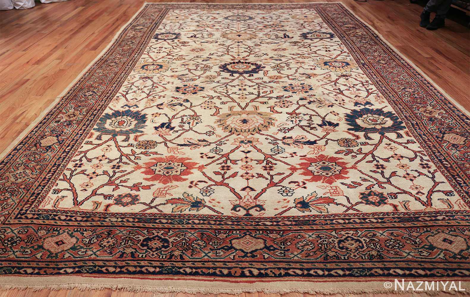 antique sultanabad persian carpet 50282 whole Nazmiyal