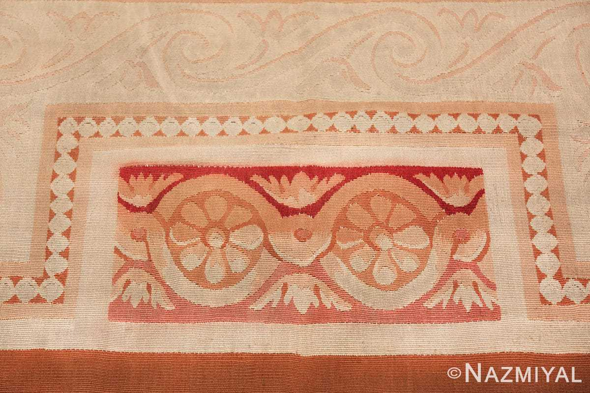 beautiful room size antique french aubusson rug 50295 border Nazmiyal