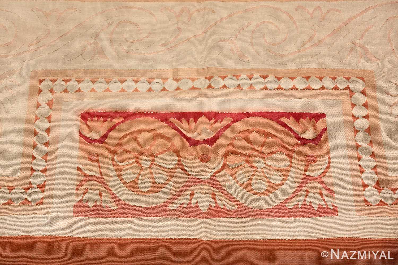 beautiful room size antique french aubusson rug 50295 border Nazmiyal
