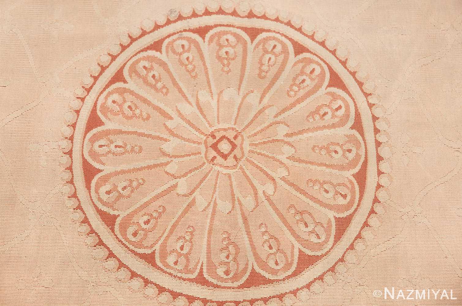 beautiful room size antique french aubusson rug 50295 medallion Nazmiyal