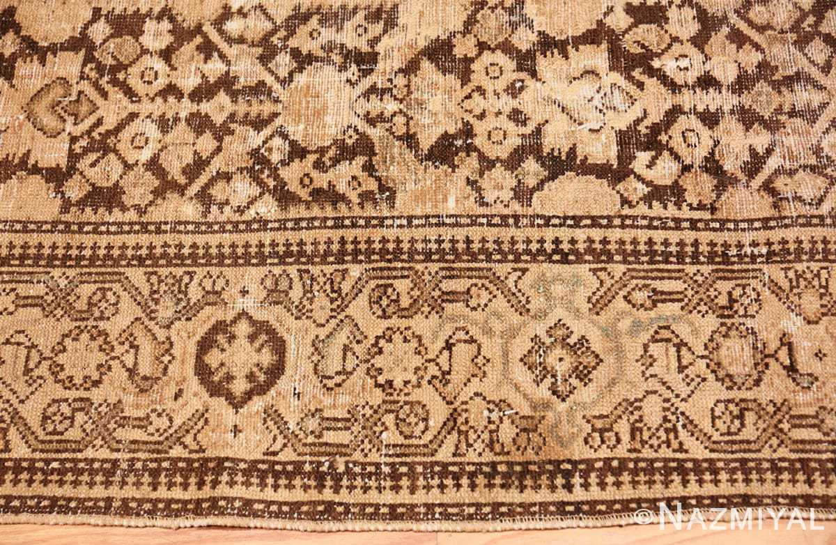 Border Antique Persian Malayer carpet 50196 by Nazmiyal