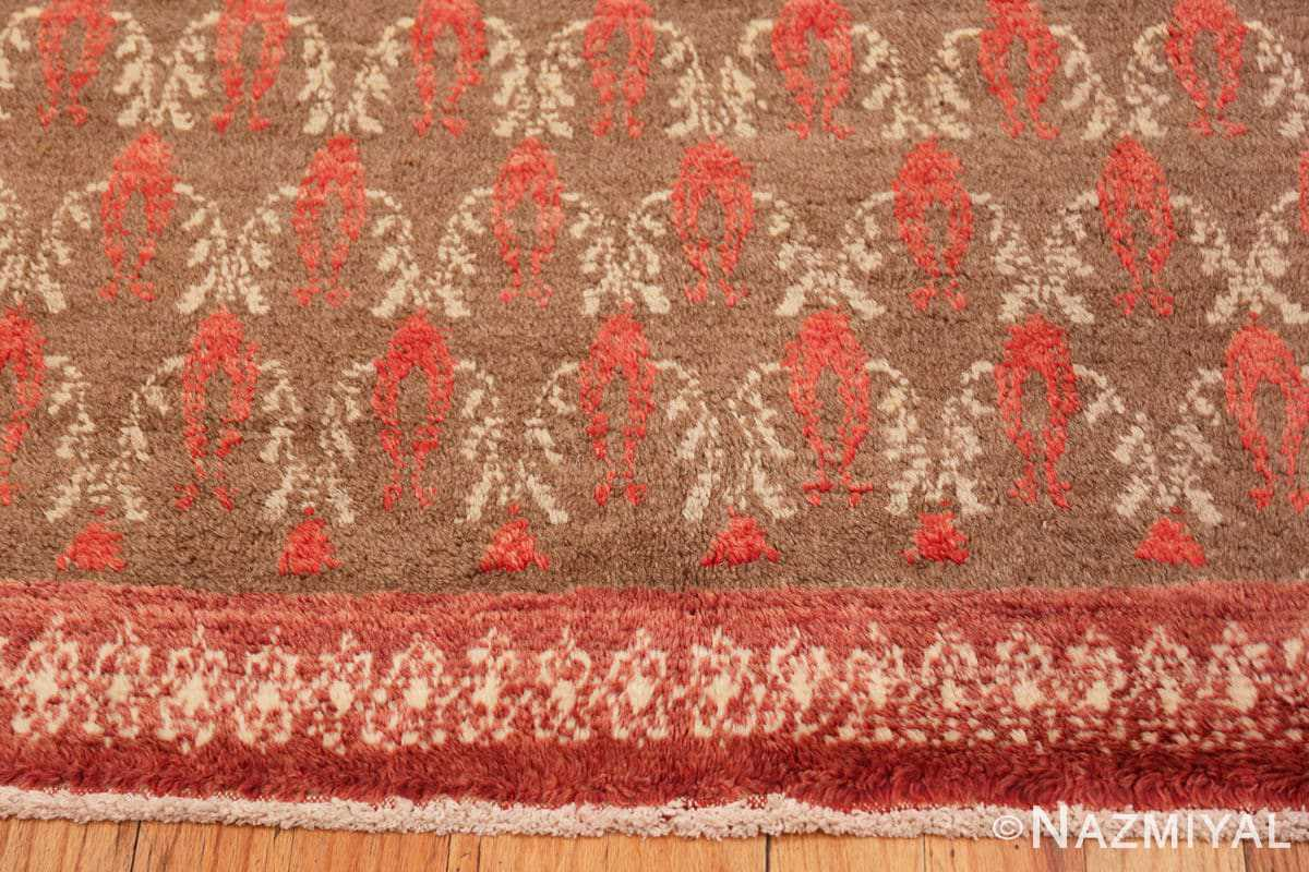 Border Art Deco Turkish rug 50334 by Nazmiyal